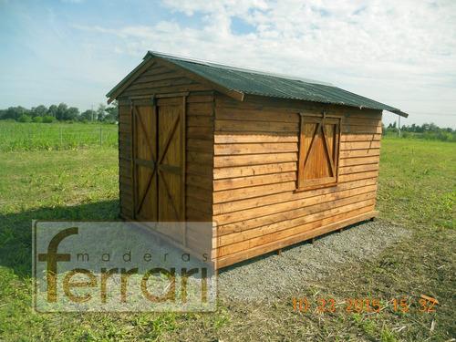 cabaña casa prefabricada
