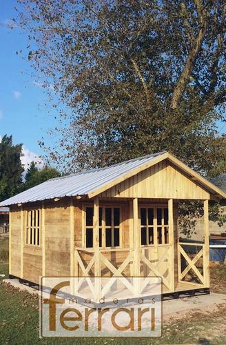 cabaña casa prefabricada consulte promos del mes