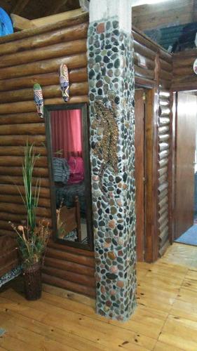 cabaña confortable / en lote propio