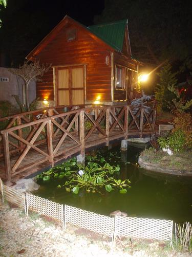 cabaña de ensueño con vista paisajistica