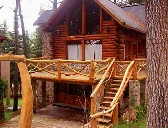 Cabana de madeira roli a projeto completo r 9 90 em for Modelos cabanas rusticas pequenas