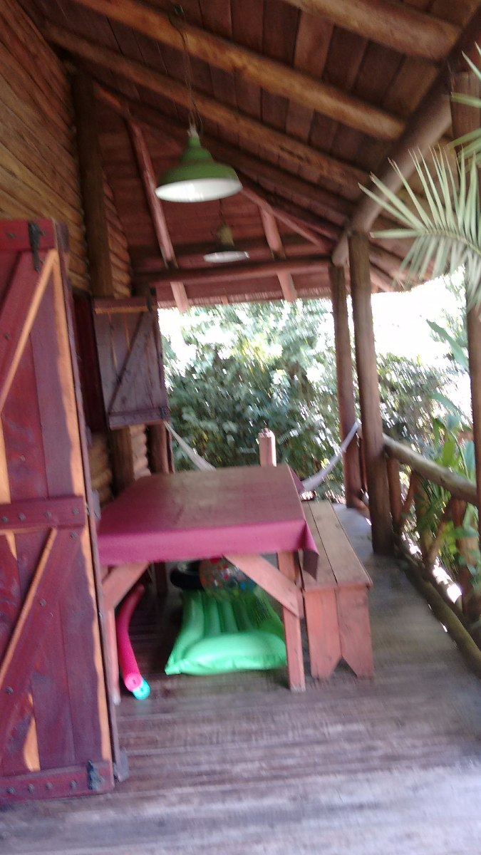 cabaña de troncos +  duplex