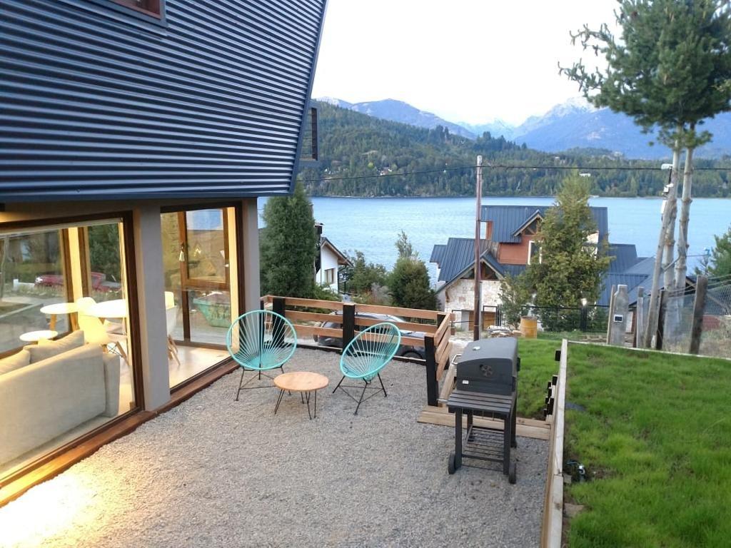 cabaña / departamento con vista al lago y las montañas