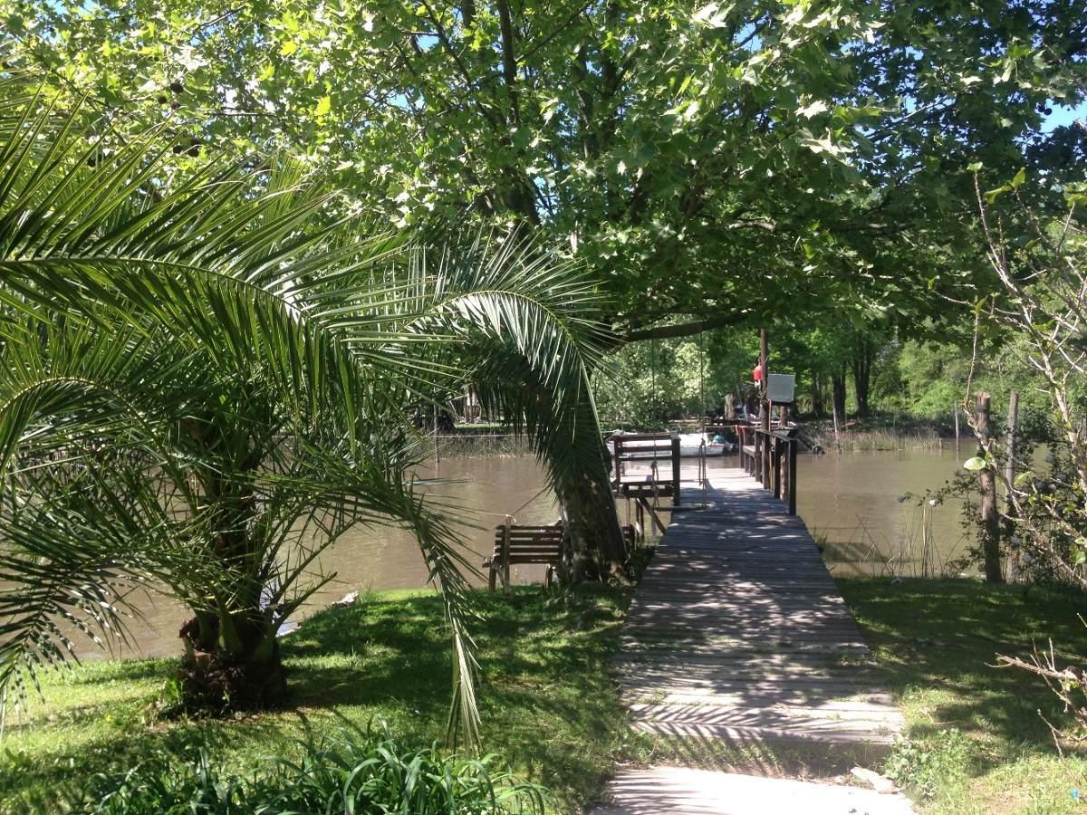 cabaña en alquiler isla delta del tigre