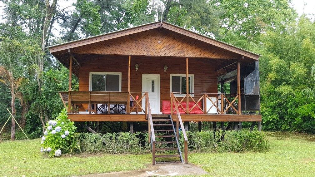 cabaña en alquiler temporario, en el delta 2 habitaciones