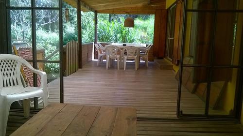 cabaña en delta del tigre para 4- 6 y 8  personas