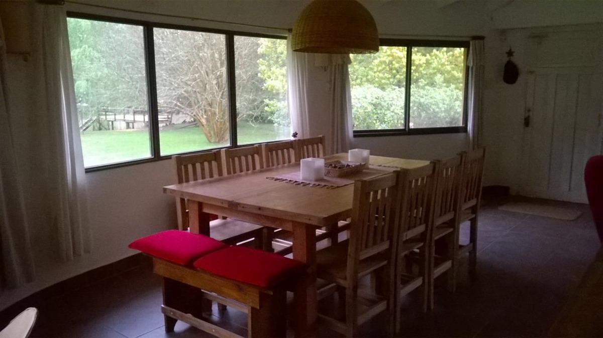 cabaña en el delta de tigre para 4-6-8 y 10 personas