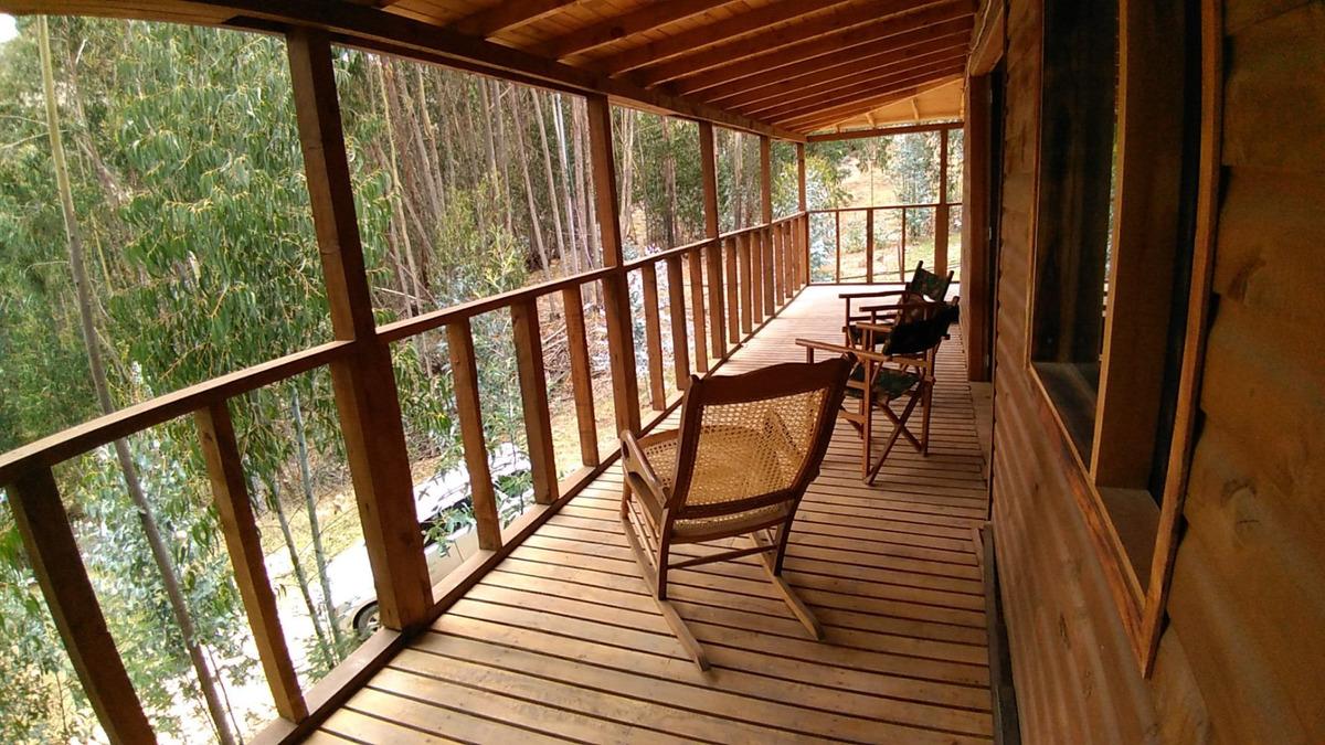 cabaña en madera, zona rural suesca, c/marca (casa, finca)
