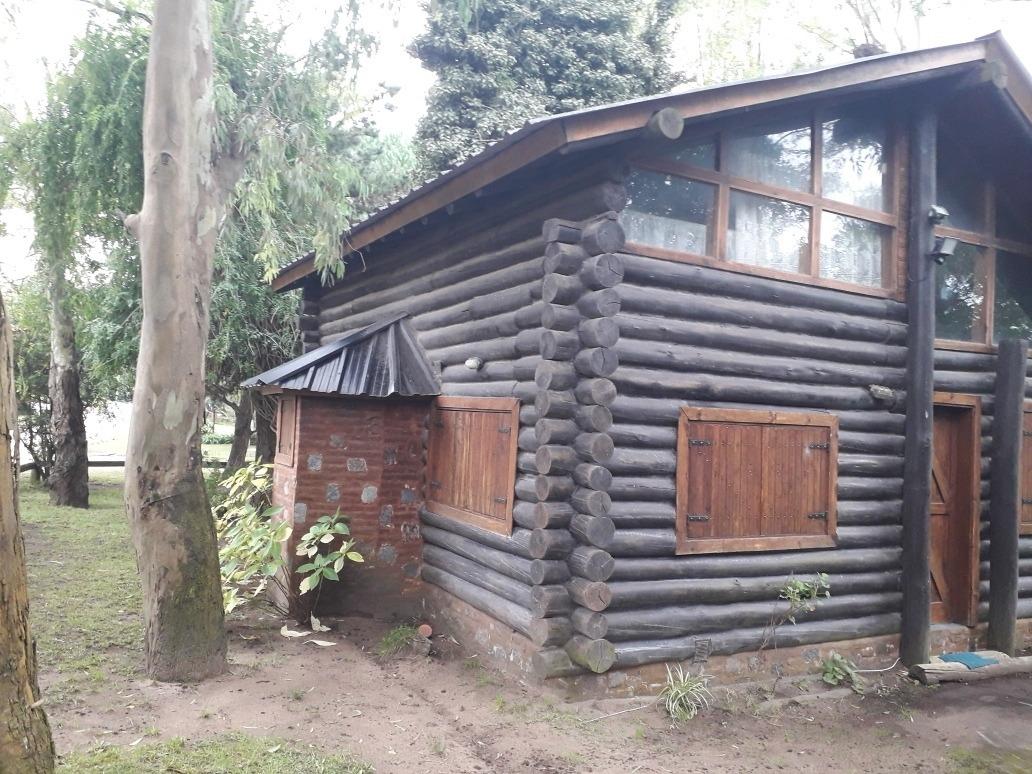 cabaña en pinamar venta o permuta por casa en villa angostur