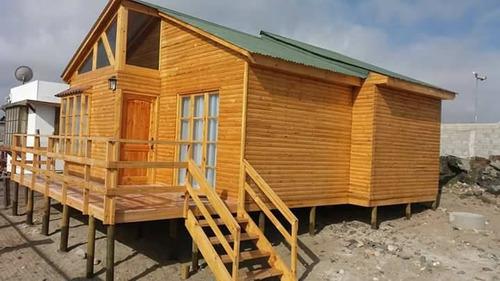 cabaña en punta de choros con vista a las islas