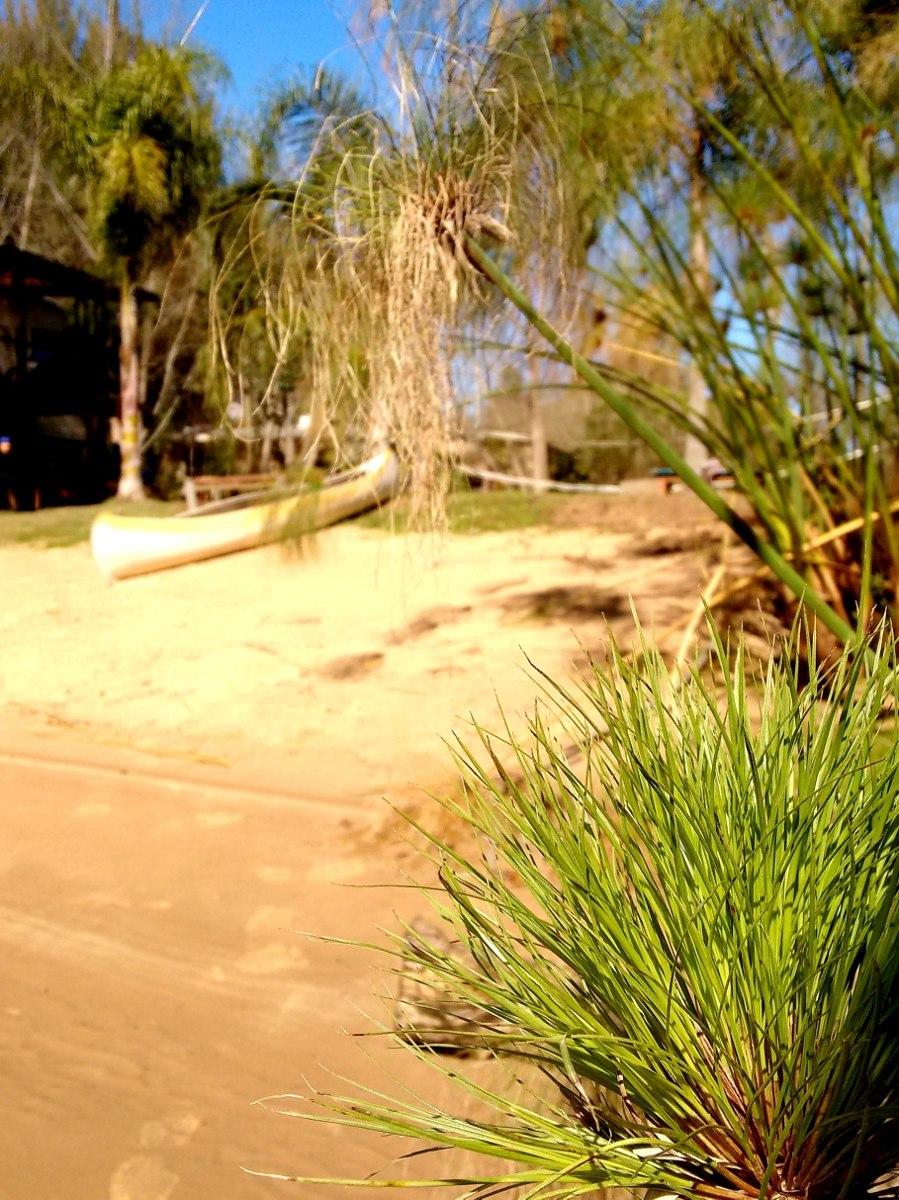 cabaña en tigre con playa  parrilla parque y bosque.