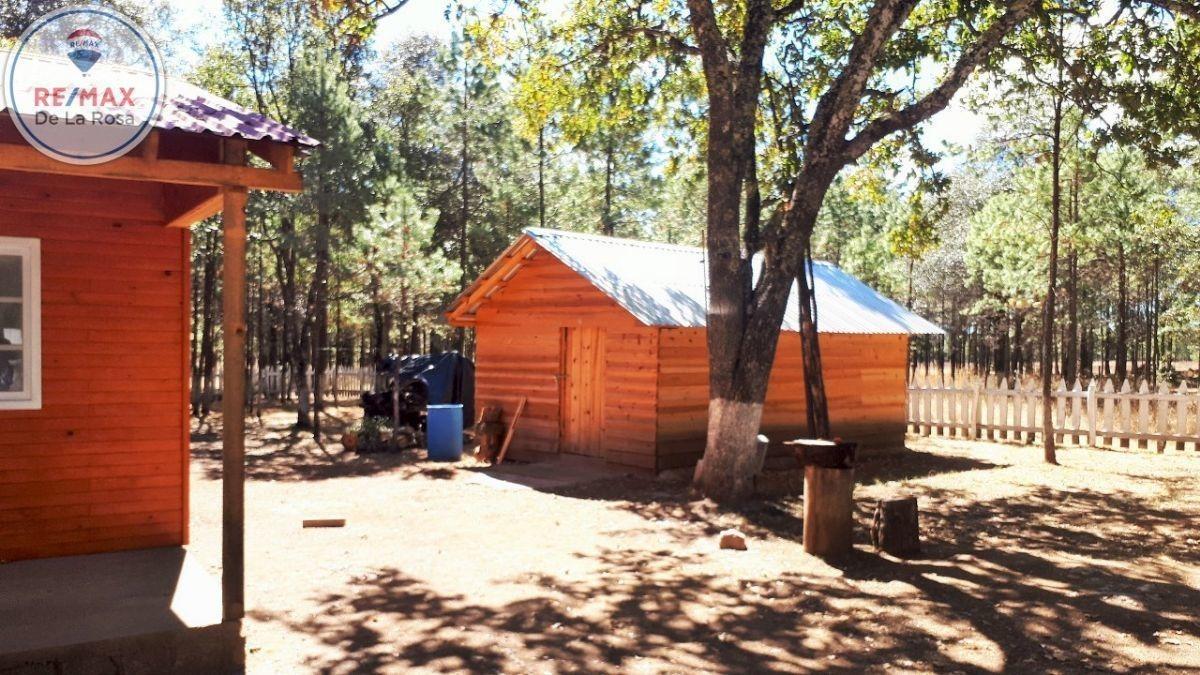 cabaña en venta en bosques de llano grande durango