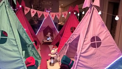 cabana festa do pijama locação