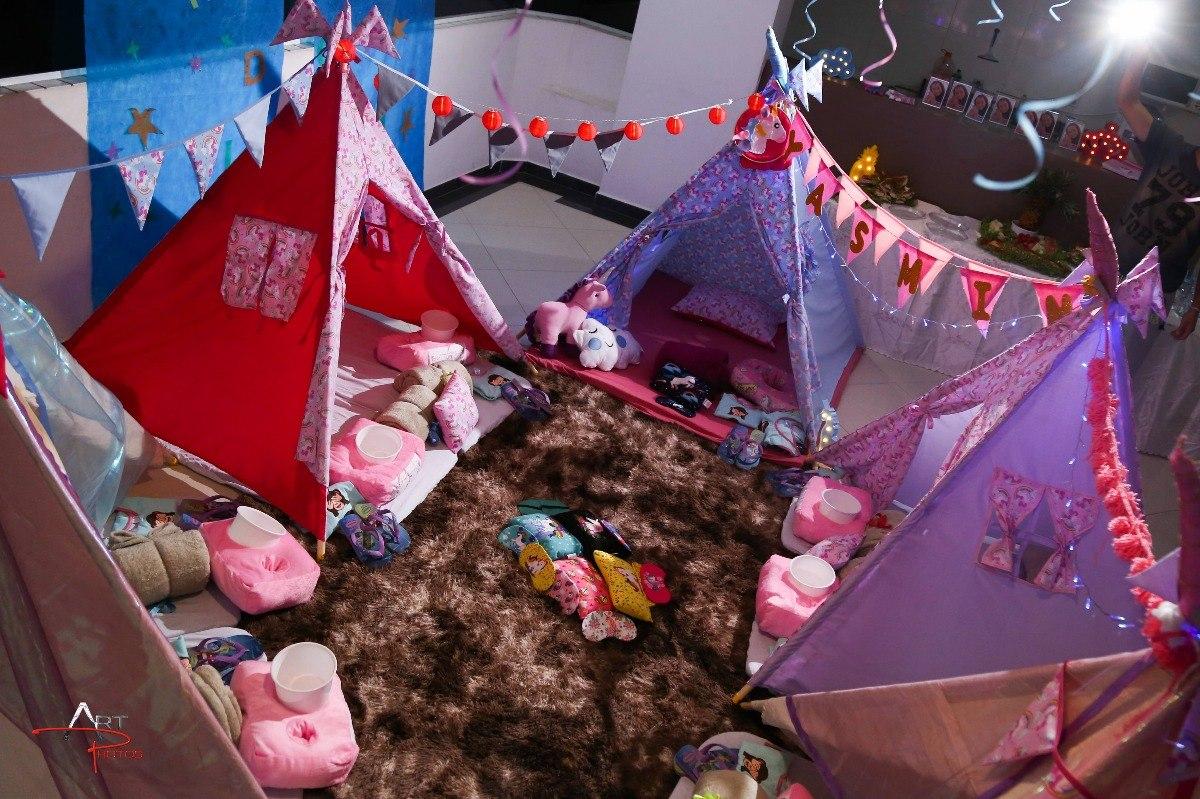 c74a26be5 cabana festa do pijama locação unicornio. Carregando zoom.