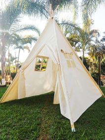 65ffb74e31b6c7 Cabana Infantil Ideal P/ Festa Pijama Barraca Toca Tenda