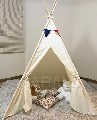 cabana infantil -tenda criança barraca p/festa do pijama