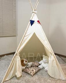 0d3167f1200d72 01 Cabana Infantil -tenda Criança Barraca P/ Festa Pijama.