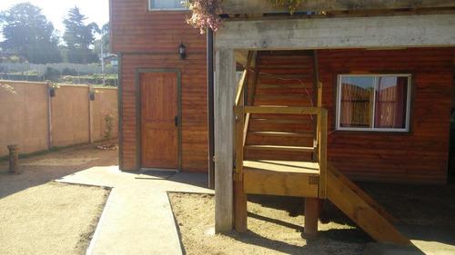 cabaña isla  negra equipada para pareja ,maximo 3-4 personas