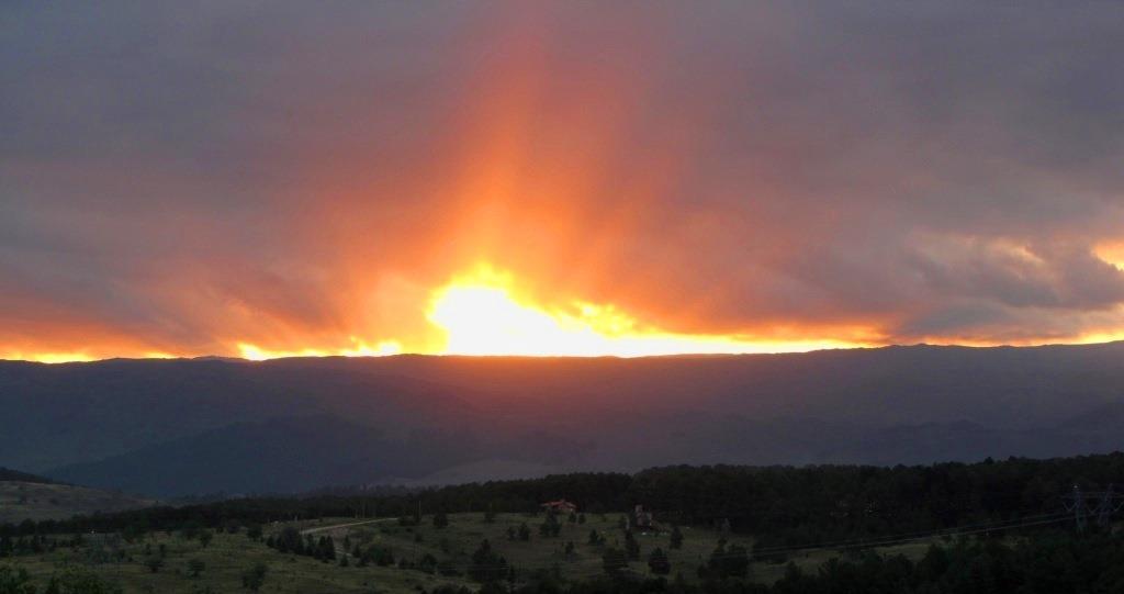 cabaña los fuegos en yacanto de calamuchita - hermosa vista.