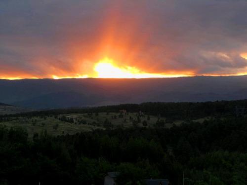 cabaña los fuegos - yacanto - hermosa vista.
