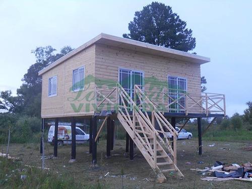 cabaña para delta e islas - piso elevado