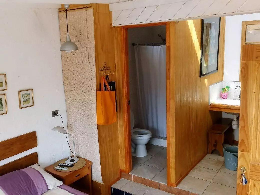 cabaña para dos personas a dos cuadras de la playa