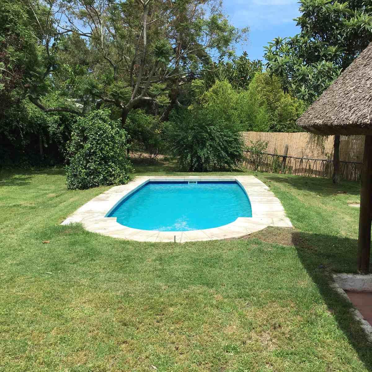 cabaña pinares  pta del  este pda 37  con piscina