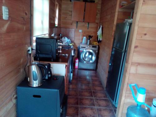 cabaña rústica en el cajón del maipo. sector el manzano