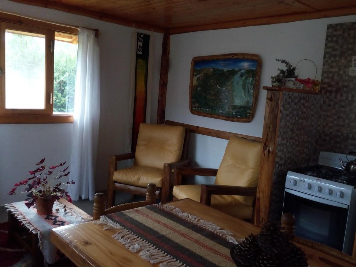 cabaña san jorge- lago puelo- chubut