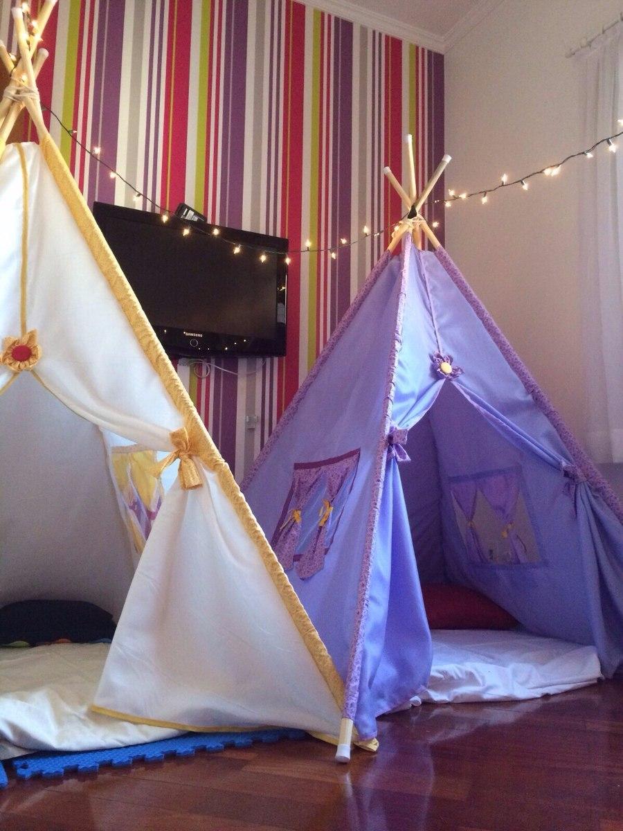 d2ae1b1301fcb8 Cabana Tenda Barraca Infantil Para Festa Do Pijama