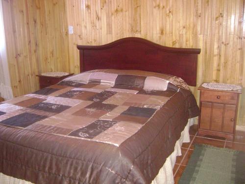 cabaña y habitaciones con baño privado.atención personalizad