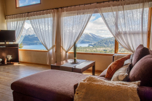 cabaña y habitaciones de hotel en bariloche temporada baja