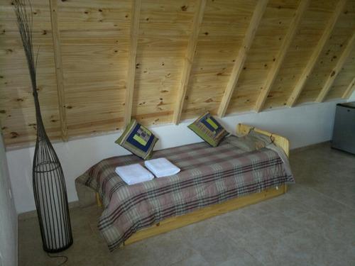 cabañas alpinas con pileta y directv en san pedro