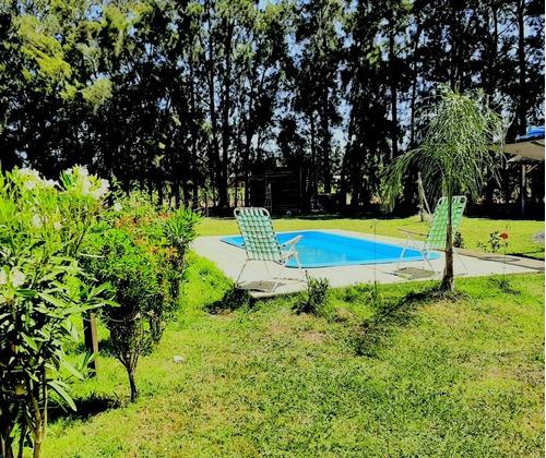 cabañas alpinas de san pedro con piscina y quincho