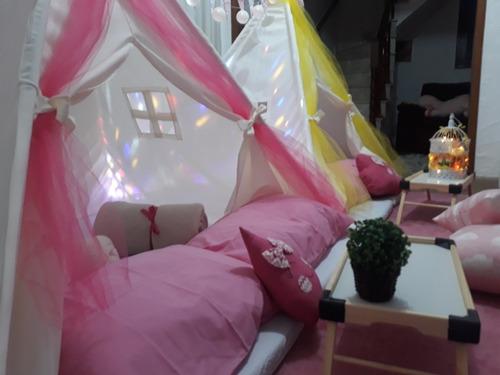 cabanas aluguel festa do pijama