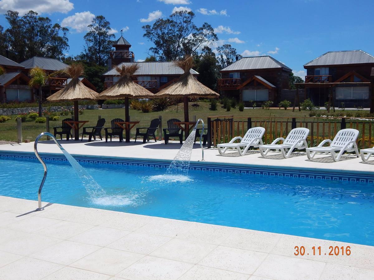 cabañas antülafken piscina climatizada