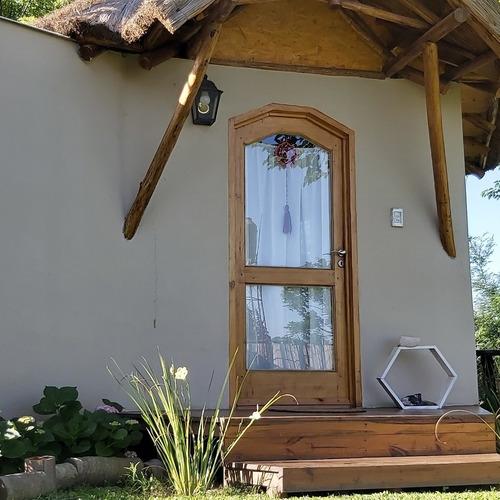 cabañas boungalow hospedaje de campo alojamiento sustentable