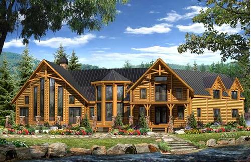 cabañas casas construcción