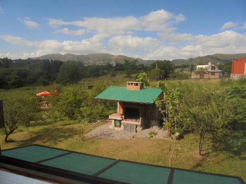 cabañas colores villa yacoana valle hermoso cordoba