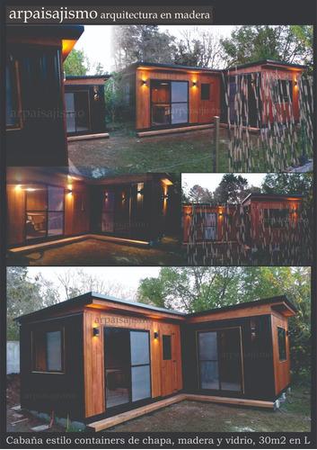 cabañas con construccion casas