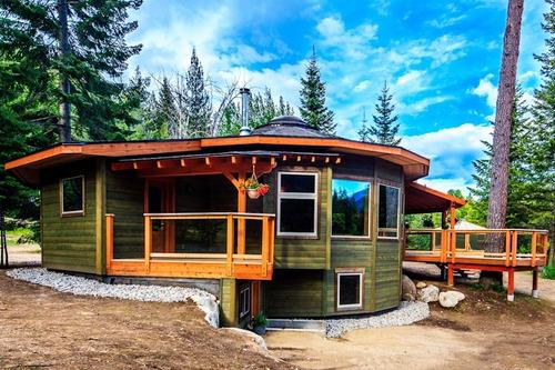 cabañas de troncos y maderas