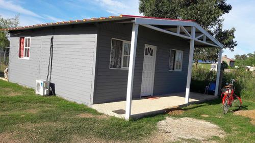 cabañas economicas 90.000 $ (3.000 usd) 42 m2 prefabricadas