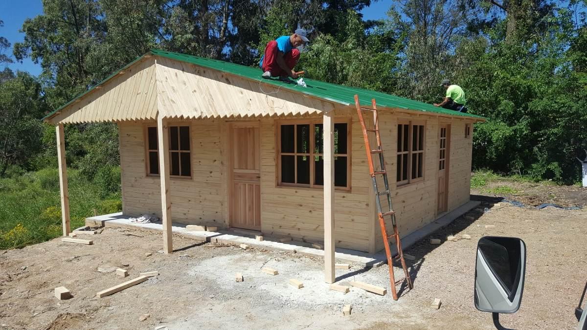 Caba as econ micas aberturas tablas de pisos postes - Opiniones sobre casas prefabricadas ...