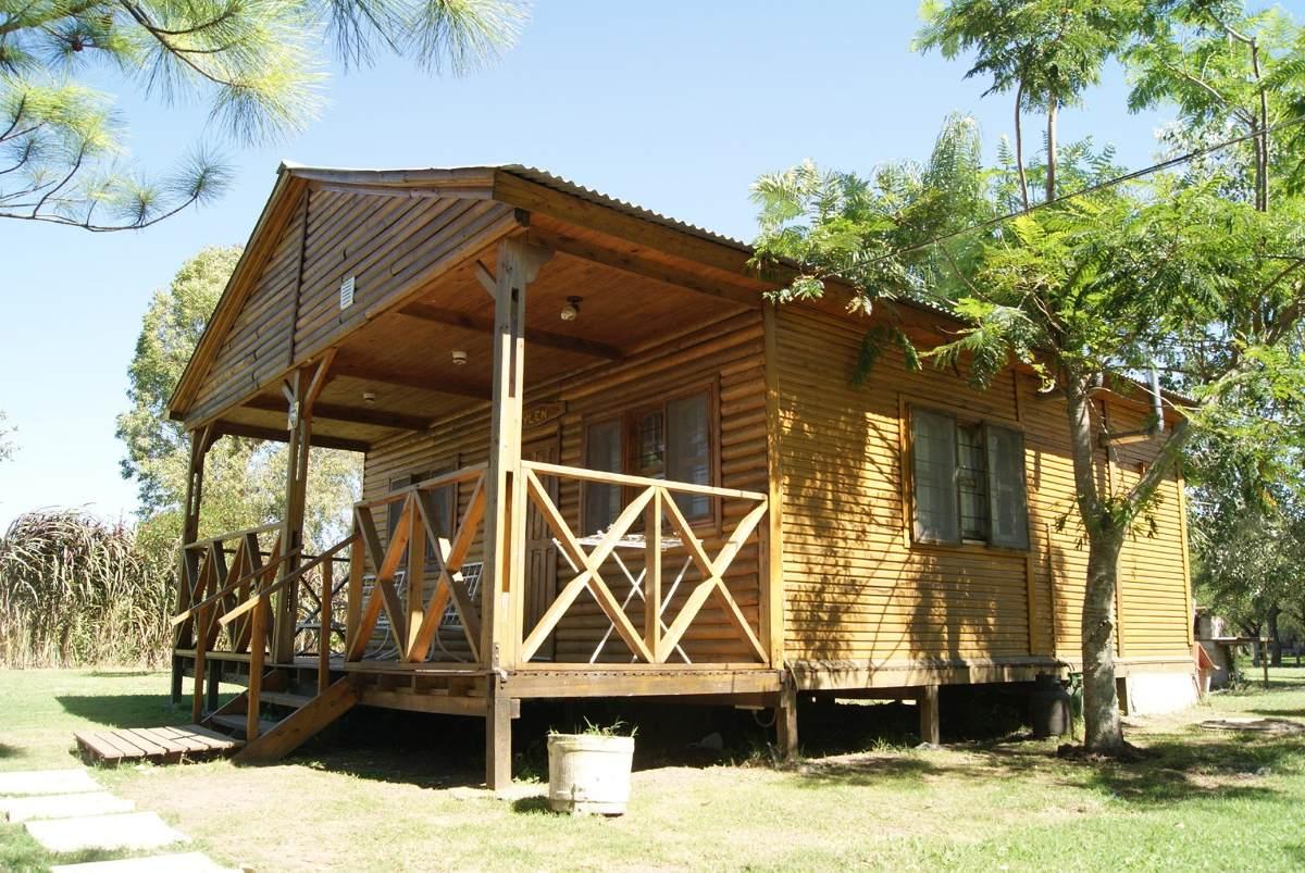 cabañas en alquiler aguaflorida frente río, gualeguay-e.rios