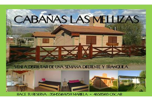 cabañas en alquiler  #las mellizas# villa cura brochero