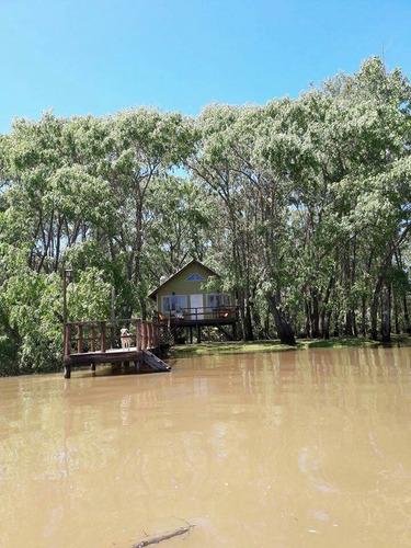 cabañas en el delta tigre arroyo arroyon isla