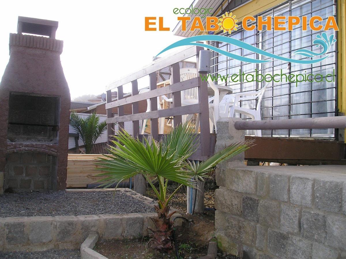 cabañas en el tabo www.eltabochepica.cl