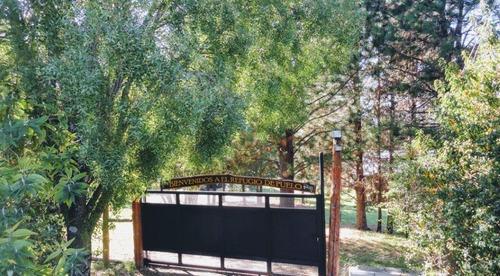 cabañas en lago puelo, frente al cerro piltriquitron
