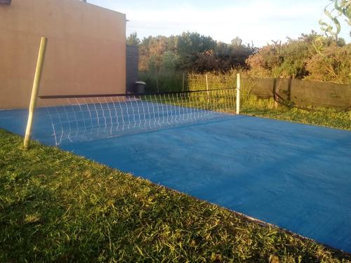 cabañas en laguna chascomus adaptada  c/ piscina