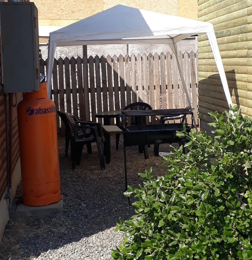 cabañas equipada en algarrobo